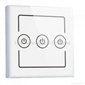 Three Gang wall switch of home