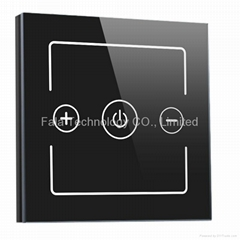 one gang dimmer touch switch of home automation system support iPhone/Android