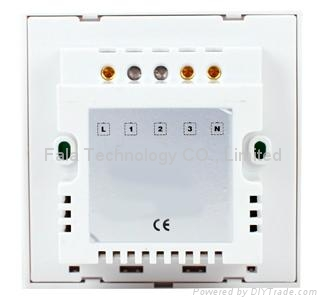 one gang touch dimmer switch of home automation smart touch dimmer switch 2