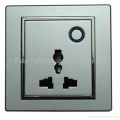 86 type electrical wall socket outlet of
