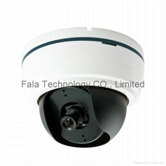 Hot Sale Color CCD IR Plastic Dome CCTV Camera