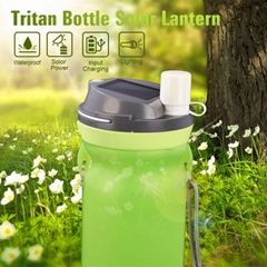 Silicon Universal Solar Multi Bottle Lanten Waterproof USB LED Light Lamp
