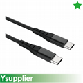 USB-C to USB-C 2.0 Cable Durable Charging Cable