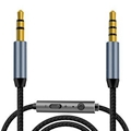 audio 3.5mm AUX Replacement Headphone/Headset Audio Cable with In-Line Remote Mi