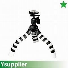 Flexible Mini Tripod for DSLM, compact cameras, camcorder, actioncams