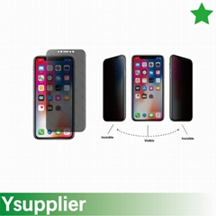 Nano Explosion Proof Privacy Glass Screen Protector for iPhone X
