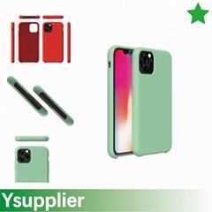 Liquid Silicone Slim Shockproof Profile Designed for 2019 new iPhone Case Cover