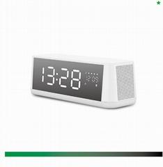 Alarm Clock Radio with Bluetooth Speaker