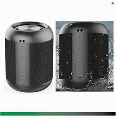 [2-pack] Waterproof Portable Bluetooth Speakers+TWS Linking