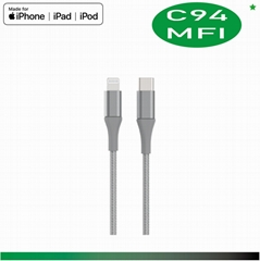iPhone X Accessories , USB C to Lightning Cable, 18W