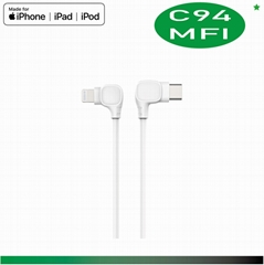 iPhone 8 plus Accessories, , USB C to Lightning Cable, 18W