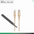 Material environment friendly iPhone Lighting cable, RoHS, REACH, 6P, CE, IC