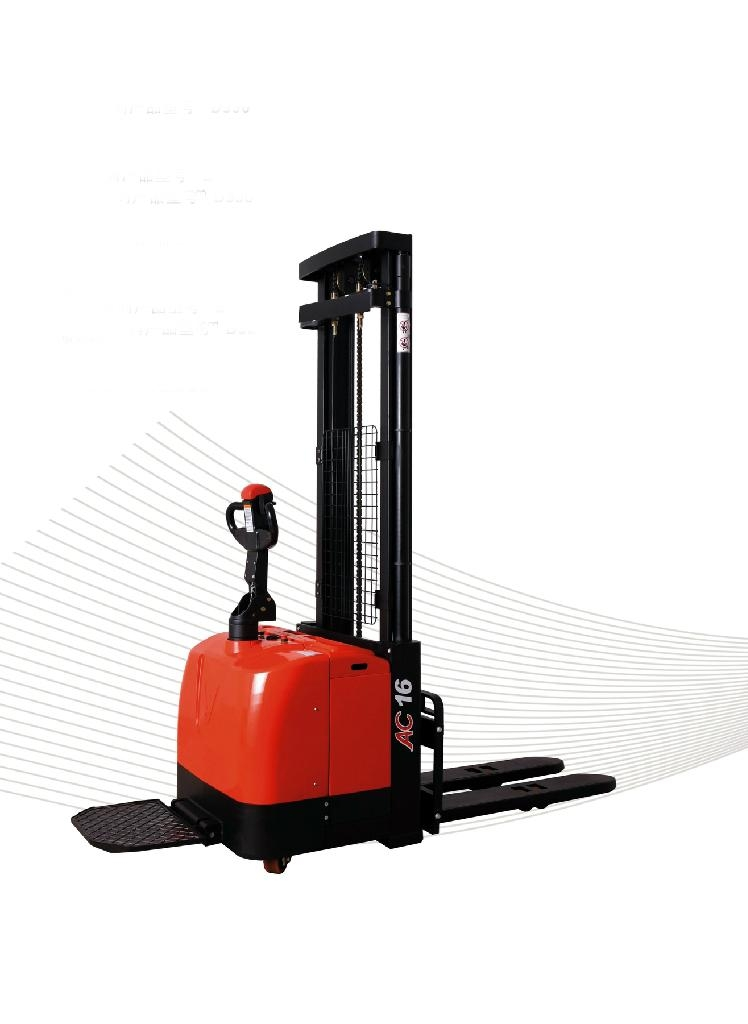 EPS electric pallet stacker CDD16-D930 - China - Manufacturer -
