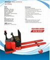 3.5T high capacity powered pallet truck CBD35-510/520/530 2