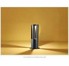 底座式圆柱柱头灯