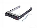 "hdd tray 651687-001 2.5"" Hot-Swap SAS SATA Hard Disk Drive Caddy for G8 server 2"