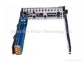 "hdd tray 651687-001 2.5"" Hot-Swap SAS SATA Hard Disk Drive Caddy for G8 server 4"
