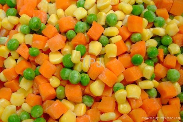 IQF mixed vegetables  1