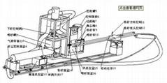 青島熱水器內膽拋丸機清理機