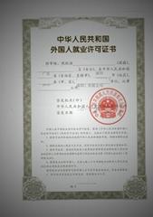 Working visa in Shenzhen, China