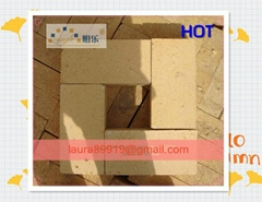 High alumina refractory brick for furnace