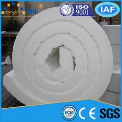 Creamic fiber blanket