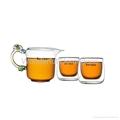 1050 ML Glass Tea Set Pyrex Heat Resistant Tea Pot 3