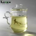 380ml Hi-borosilicate Glass Tea Cup and