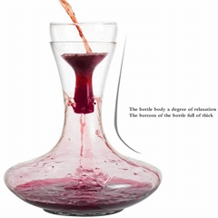 1900ML Big Capacity Glass Red Wine Decanter