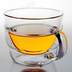 500ML Pyrex Small Glass Irish Coffee Mugs