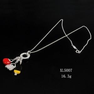 幻想时尚925银镶锆石项链 5