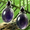 经典时尚半宝石耳环 4