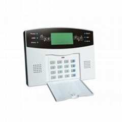 auto-dial SMS alarm system with LCD display