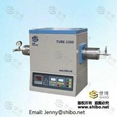 Laboratory vacuum tube furnace