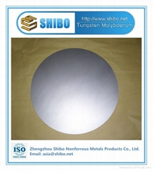 Factory Supply High Purity 99.95% Molybdenum disc
