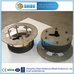 Factory Supply Molybdenum cover plate for sapphire growing furnace