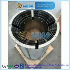 Factory Supply Molybdenum Heat Shield for Sapphire Growing Furnace