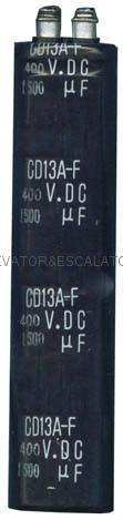 Capacitors for elevator 1