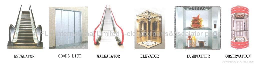 ESCALATOR /GOODS LIFT/WALKALATOR/ELEVATOR /DUMBWAITER /OBSERVATION LIFT