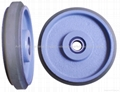 D160 Elevator high speed guide rollers