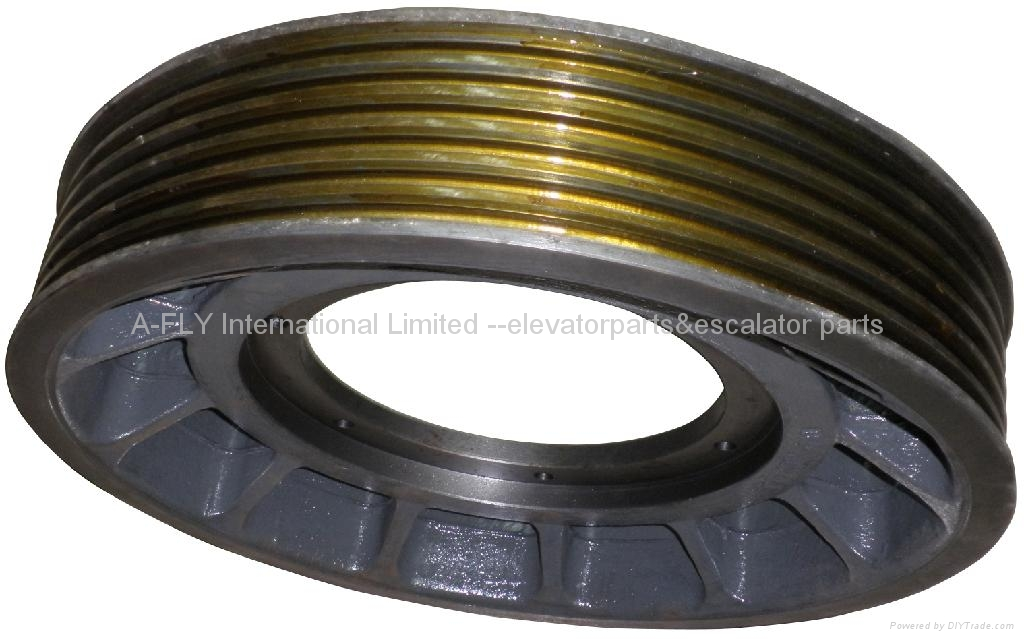 EM2471 Elevator traction sheave for mitsubishi 1