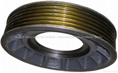 EM2471 Elevator traction sheave for mitsubishi