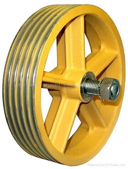 190173 Elevator traction sheave w250 1