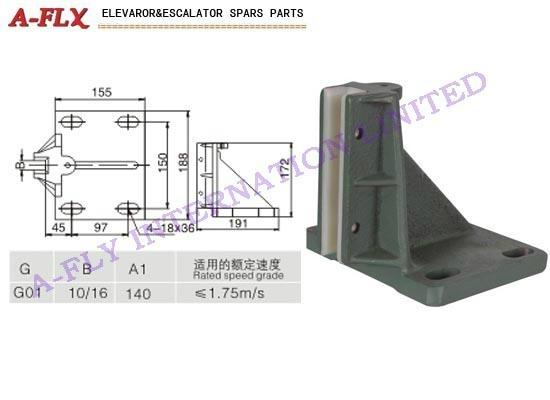 Type:GS-033  Elevator guide shoe