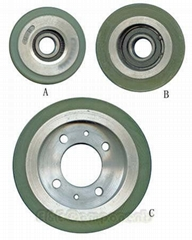 D76,D87,D135 Handrail and step roller(Escalatorparts) for hyundai