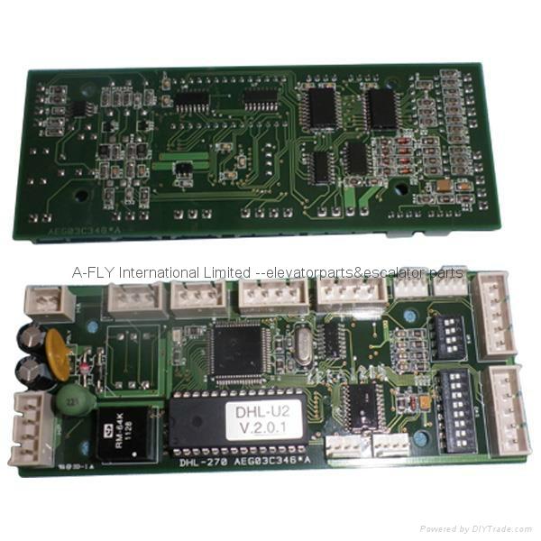 Elevator PCB DHL-270 Electronic Circuit Board  ID Nr AEG03C346 * A 1