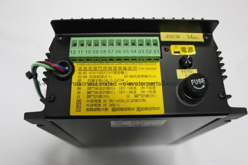DR2009C - 400 For Fuji Elevator Spare Parts 400W 1