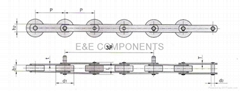 Step chain(3P/Escalator parts)