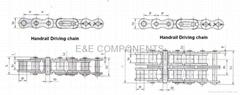 handrail driving chain(escalator parts)