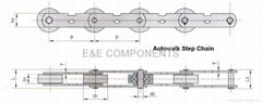 Autowalk Step chain(Escalator parts)